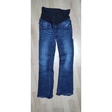 H&M Spodnie jeansy ciążowe S EUR 36; 37,5cm