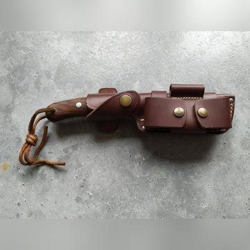 Nóż Bushcraft Boar - TBS - Walnut - Ręcznie robion