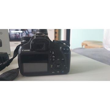 Zestaw Canon EOS 1100d + 2 obiektywy !