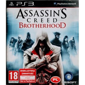 Assasin's Creed Brotherhood Gra PS3 Playstation PL