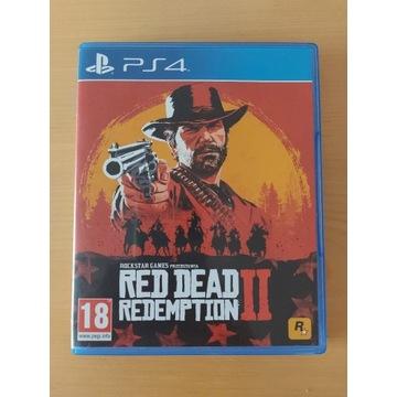Red Dead Redemption 2 PS4 PL jak nowa