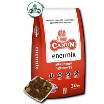 Canun Enermix 20 kg karmy dla psów w szkoleniu