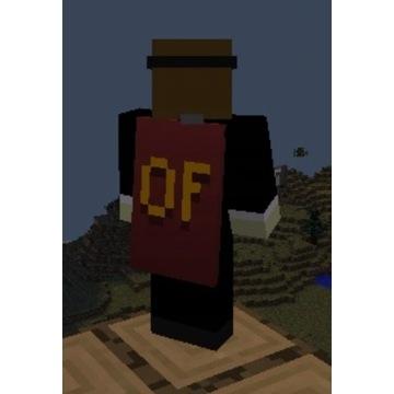 Pelerynka Optifine Minecraft