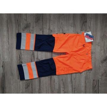 Fristads Kansas spodnie ostrzegawcze robocze XL
