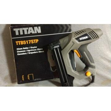 Gwoździarka Zszywacz 2w1 TITAN TTB517STP, 25mm