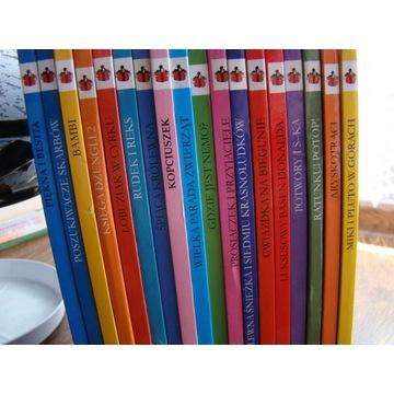Walt Disney * Dobre bajki * 18 książek * Stan BDB
