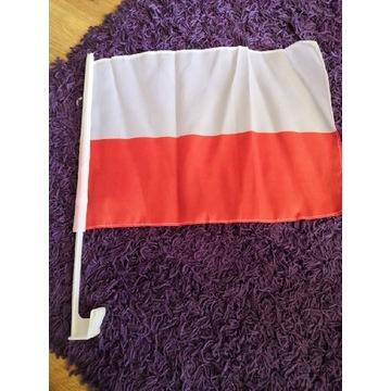 Flaga Polska  na samochód