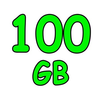 CHOMIKUJ TRANSFER eTRANSFERUJ   100 GB 30 DNI