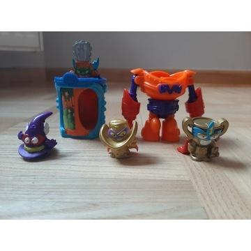 Figurki Super Zings Złote seria 3 i 4 plus inne