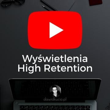 20 H wyświetlenia HR 100% w serwisie YouTube