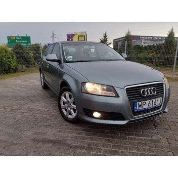 Audi a3 z panoramicznym dachem ,bezwypadkowy