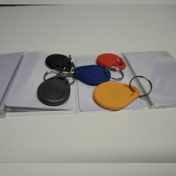 Kopiowanie kart, breloków rfid do drzwi, domofonów