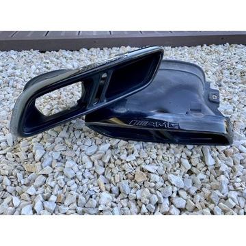 Końcówki Wydechu Mercedes E63 S AMG W213 Czarne