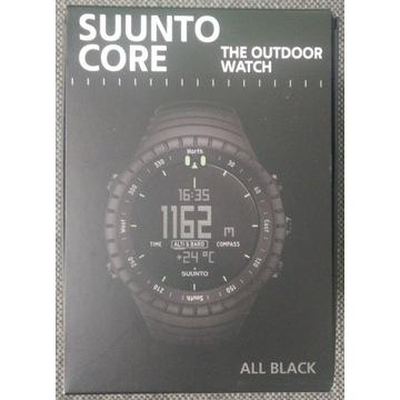 NOWY zegarek Suunto Core All Black Gwarancja