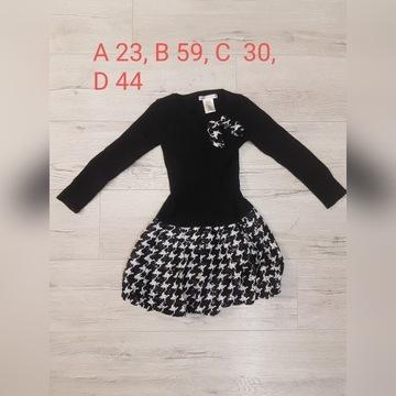 sweter  dziewczynka,  5-6 lat, rozmiar 116