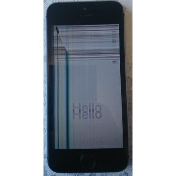 iPhone 5S uszkodzony wyświetlacz