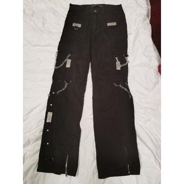 Odzież męska spodnie GOTH GOTHIC ROCK łańcuchy