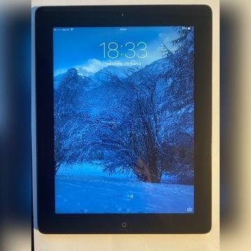 Apple iPad 2 generacji, retina,  3G 64GB czarny