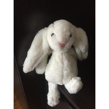 maskotka / Przytulanka biały króliczek