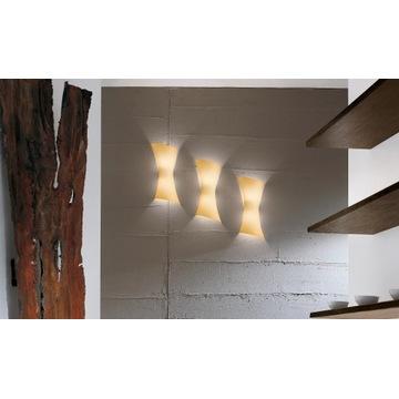 PANZERI Twister lampa kinkiet nowa 4 rodzaje