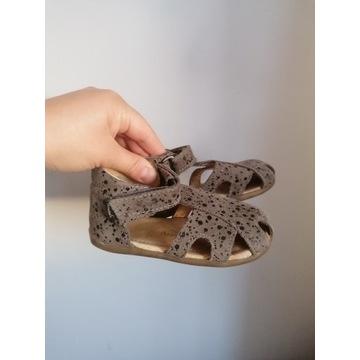Sandały sandałki mrugala skórzane 24