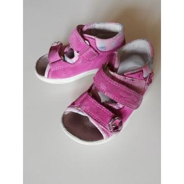 Sandałki skórzane Superfit