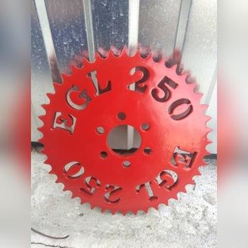 Zębatka tył tylnia quad EGL 250
