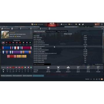 KONTO War Thunder MARSZAŁEK 100 lvl 14 odrzutowców