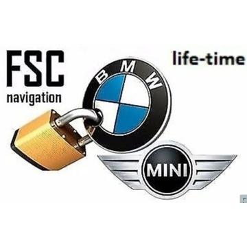 BMW aktualizacja map - kod FSC CIC/NBT Lifetime