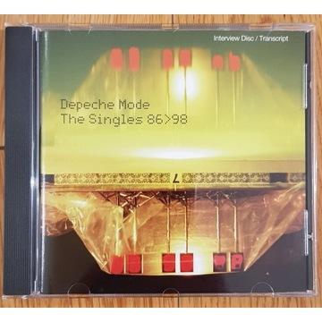 Depeche Mode - The Singles 86>98 (Interview Disc)