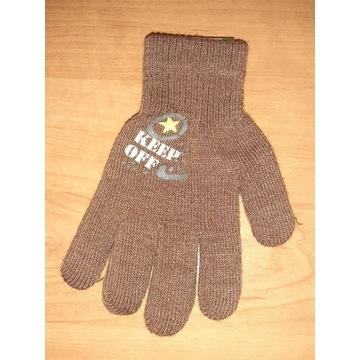 Nowe rękawiczki dziecięce chłopięce 16cm 6 lat 7 8