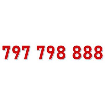 797 798 888 STARTER ORANGE ŁATWY ZŁOTY NUMER