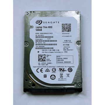 Dysk Seagate 500GB 7mm DELL 07P79P ST500LM021