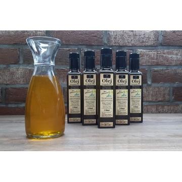 Olej rzepakowy tłoczony na zimno bez GLIFOSATU