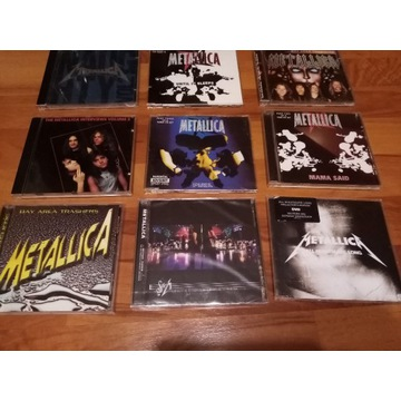 METALLICA 9CD (S&M, FUEL ,ALL NIGHTMARE LONG, BAY