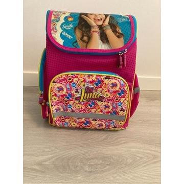 Plecak szkolny Soy Luna - komory, sztywny, kolory