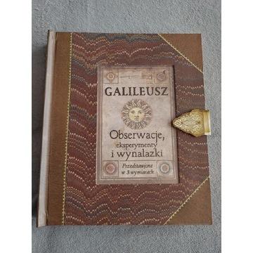 Galileusz Obserwacje, eksperymenty i wynalazki 3D