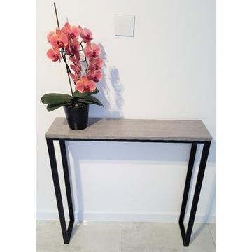 Konsola,stolik,półka,toaletka BETON MAT 80x20X80