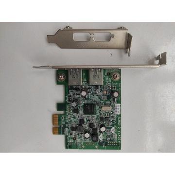Kontroler karta DELL USB 3.0 U3N2D 0YJ94F +Low