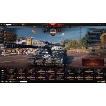 Konto Wot World of Tanks 34X! 907,260,279(e),T95!!