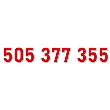 505 377 355 STARTER ORANGE ŁATWY ZŁOTY NUMER