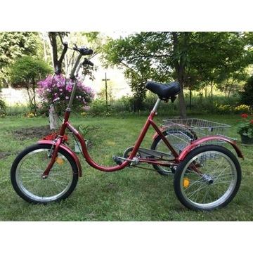 Rower rehabilitacyjny marki Tolek