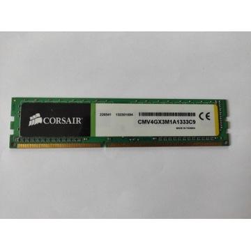 RAM Corsair 4GB DDR3 1333MHz CMV4GX3M1A1333C9
