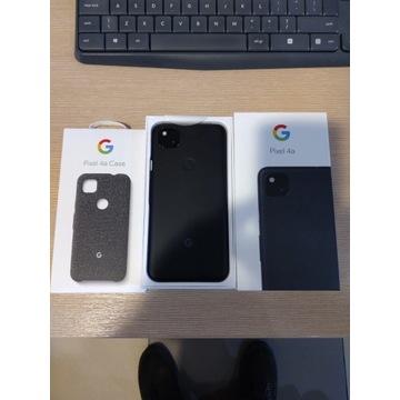 Google Pixel 4a - jak nowy + oryg etui Fabric Case