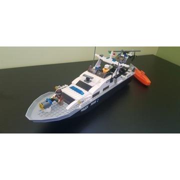 LEGO City łódź policyjna +helikopter 7899