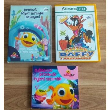 Najlepsze przeboje rybki minimini CD i DVD