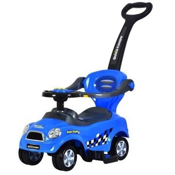 Autko chodzik+wózek+jeździk 3 w jednym