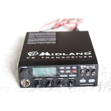 CB Radio Midland Alan 48Plus MultiB + antena 1m