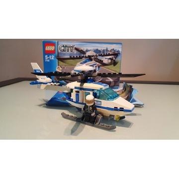 Lego City Helikopter policyjny 7741