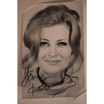 autograf Stefania Kozłowska Stenia Kozłowska
